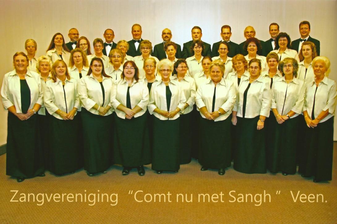 Gemengd koor Comt nu met Sangh