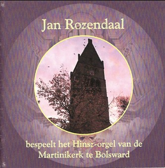 Jan Rozendaal - Martinikerk te Bolsward