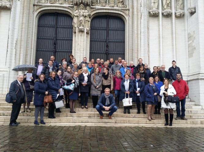 Koorreis 2015 naar Brussel (B.), Echternach (Lux.) en Trier (Dld.)
