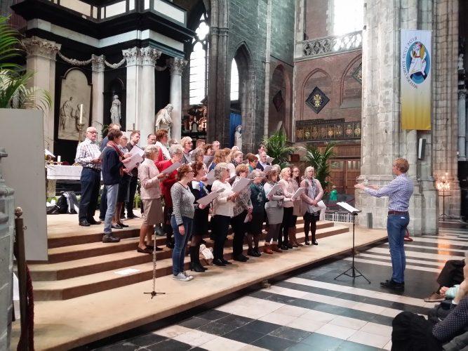 Koorreis 2016 naar Mechelen, Brugge en Gent (België)